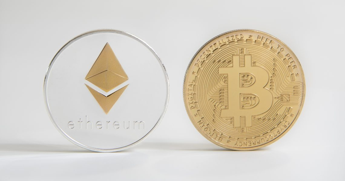 Ethereum equals Bitcoin for transferred value