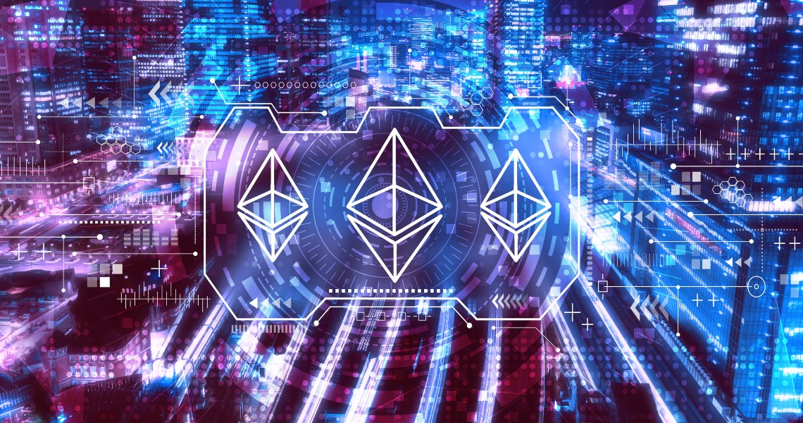 DeFi: projects on Ethereum grew by 800%.