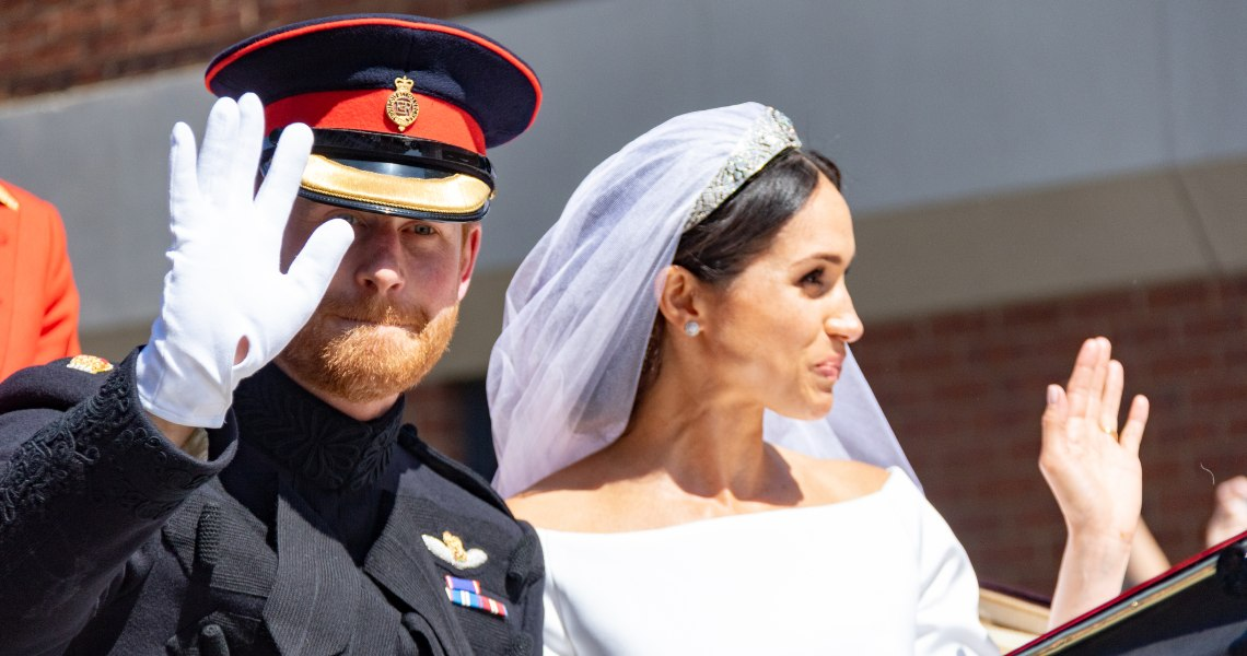 Harry and Meghan unknowing testimonials for Bitcoin Evolution