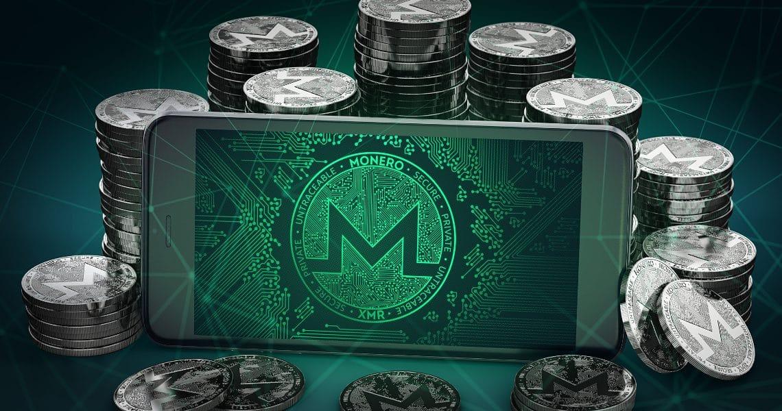 HTC Exodus allows Monero crypto mining