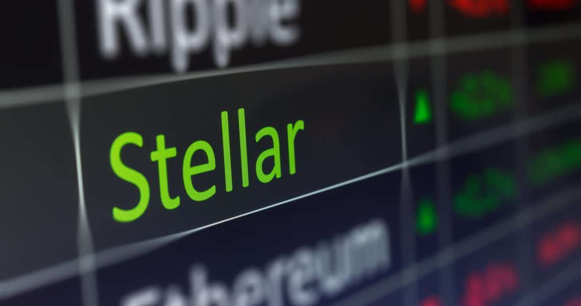 Stellar (XLM): the price goes up 10% alongside TRON