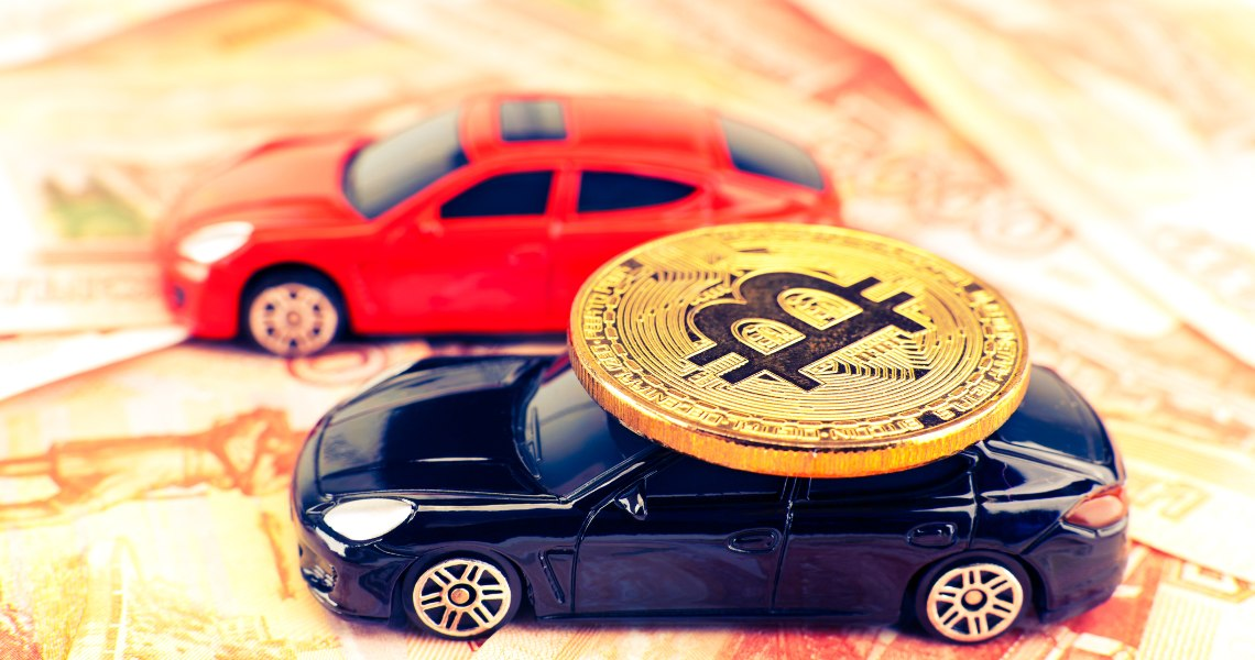 Bitcoin wins the virtual NASCAR race