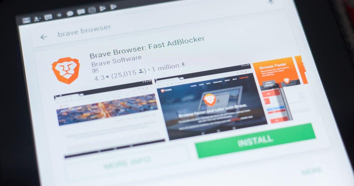 Brave: 1 million more users for the high privacy browser