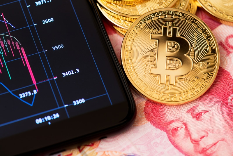 China: trading volumes distorted on crypto exchanges
