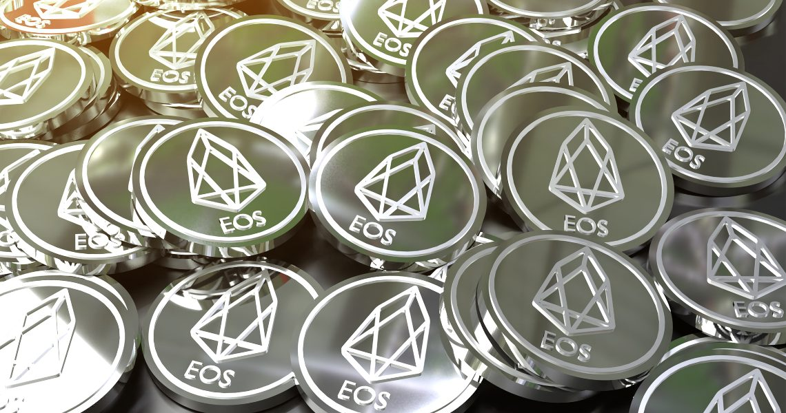 DeFi: How many EOS are locked?