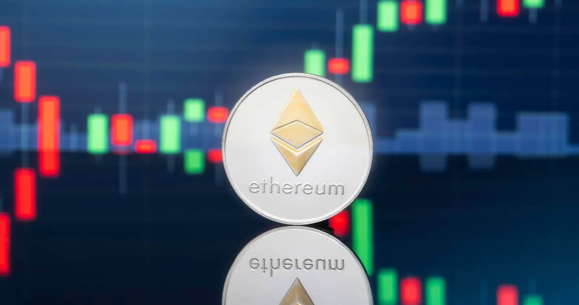 Ethereum price rising on a weekly basis: +20%.