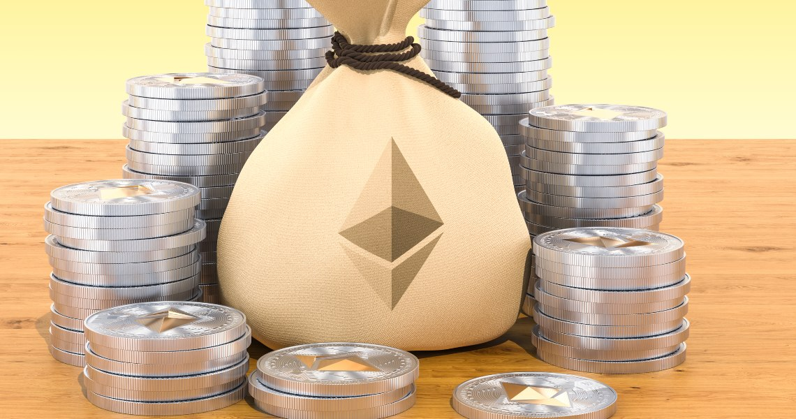 Grayscale bought half the Ethereum mined in 2020