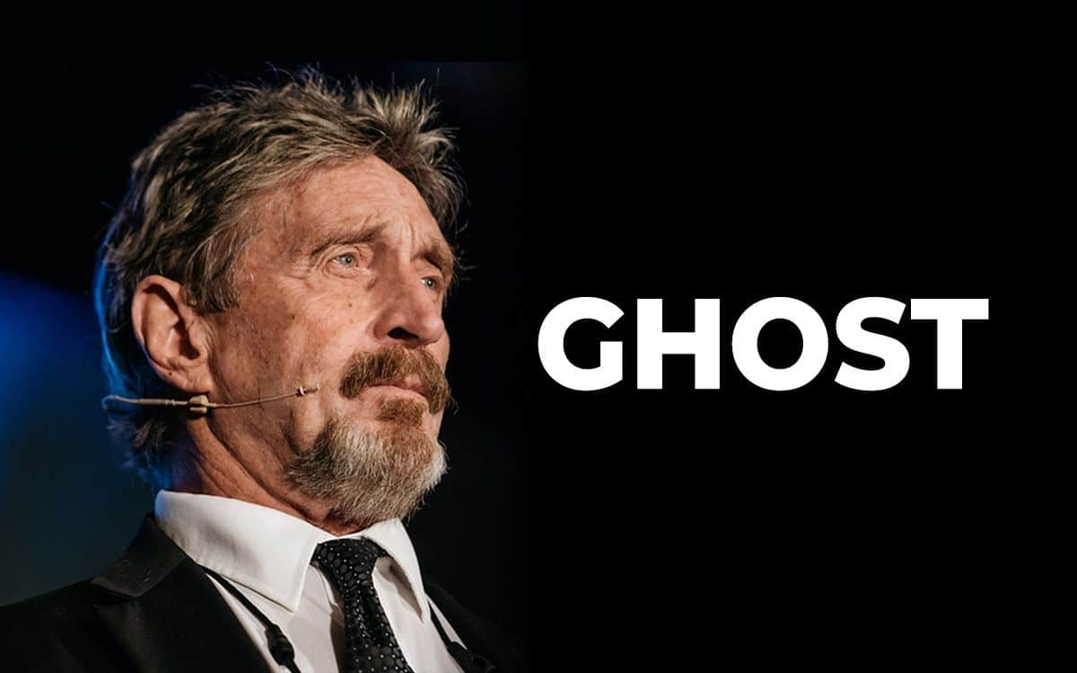 Ghost: John McAfee's privacy coin