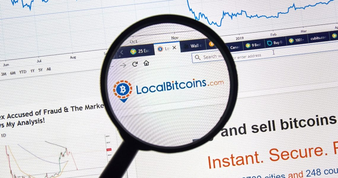How does the LocalBitcoins app work?