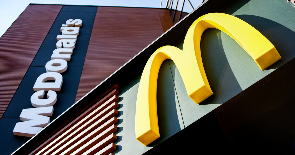 China: digital currency testing at McDonald's and Starbucks