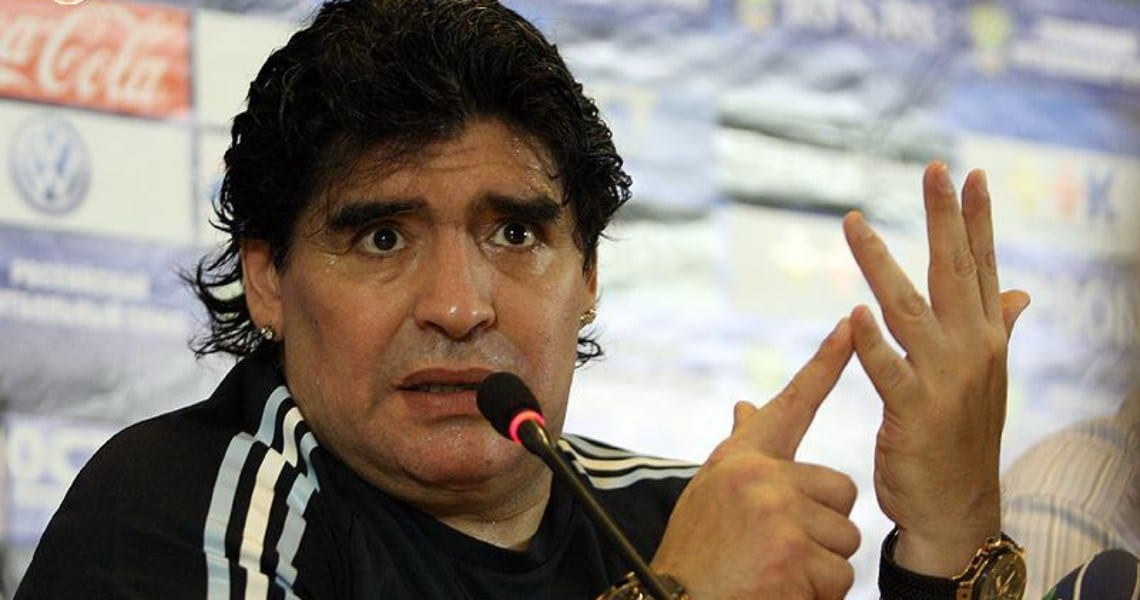 Maradona sorare