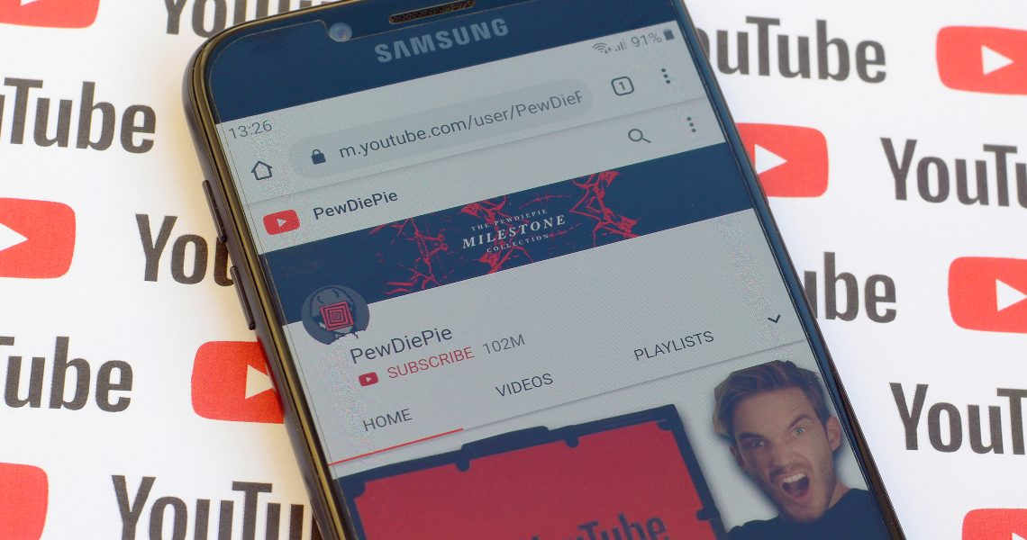 PewDiePie leaves the blockchain and returns to YouTube