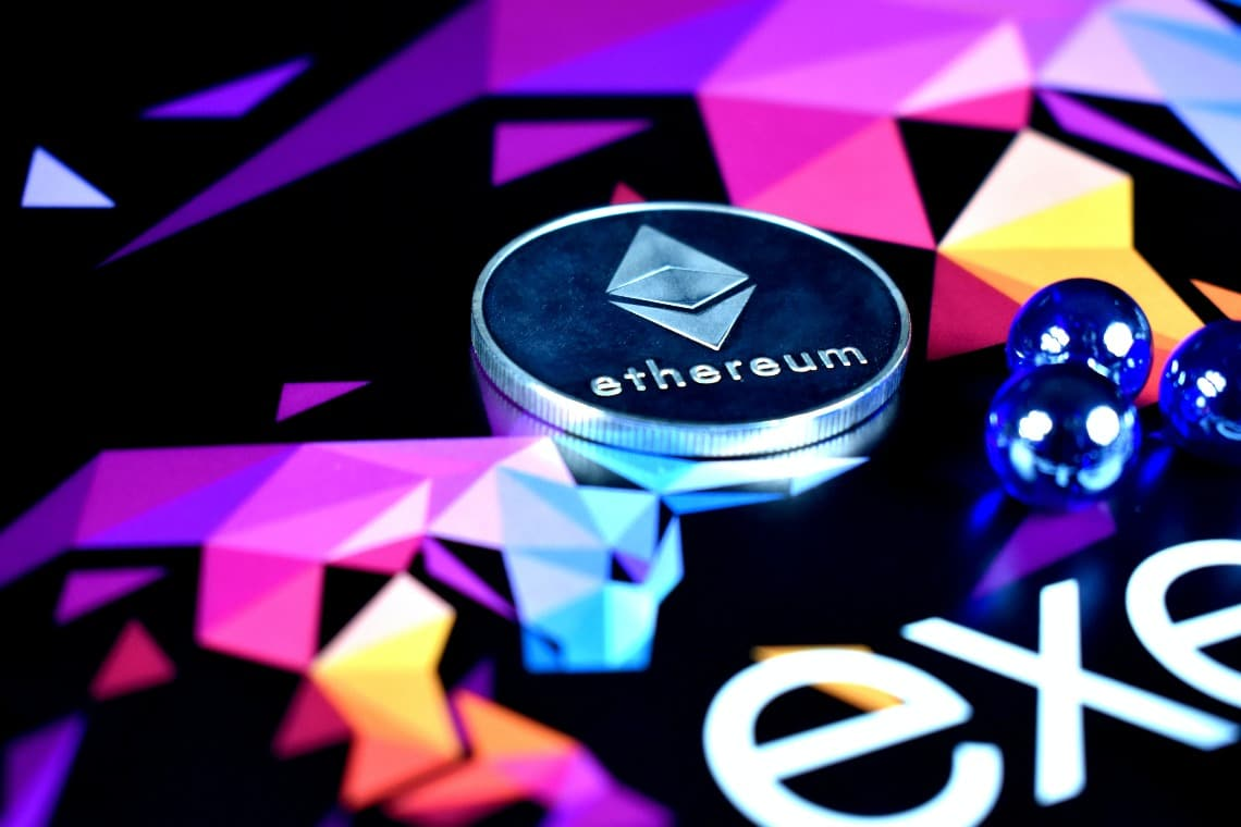 Ethereum at its highest for network usage