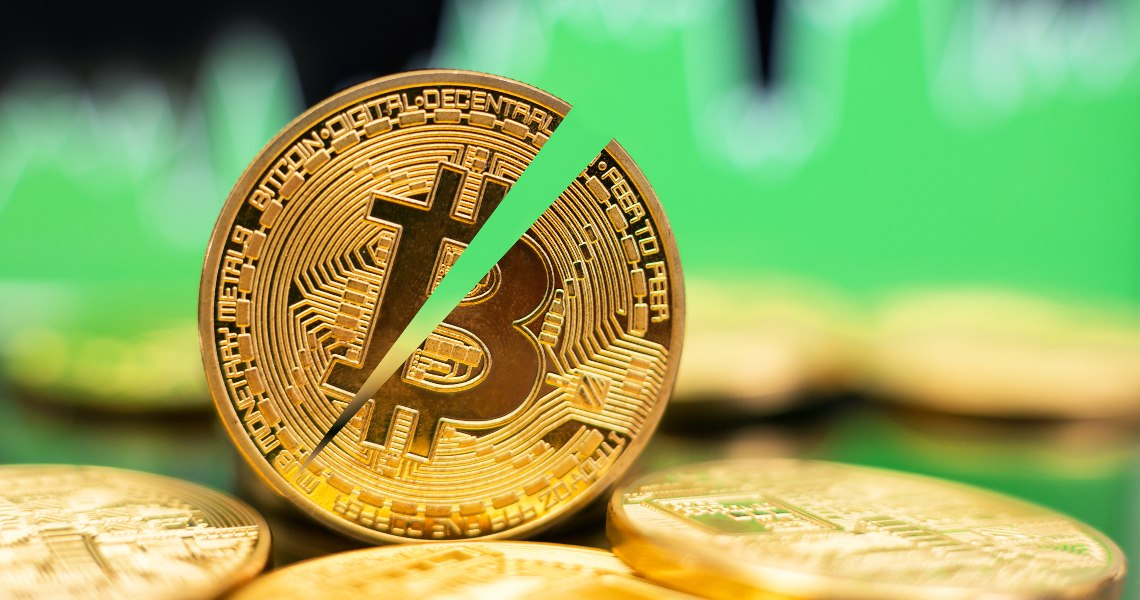 The price of Bitcoin during the halving