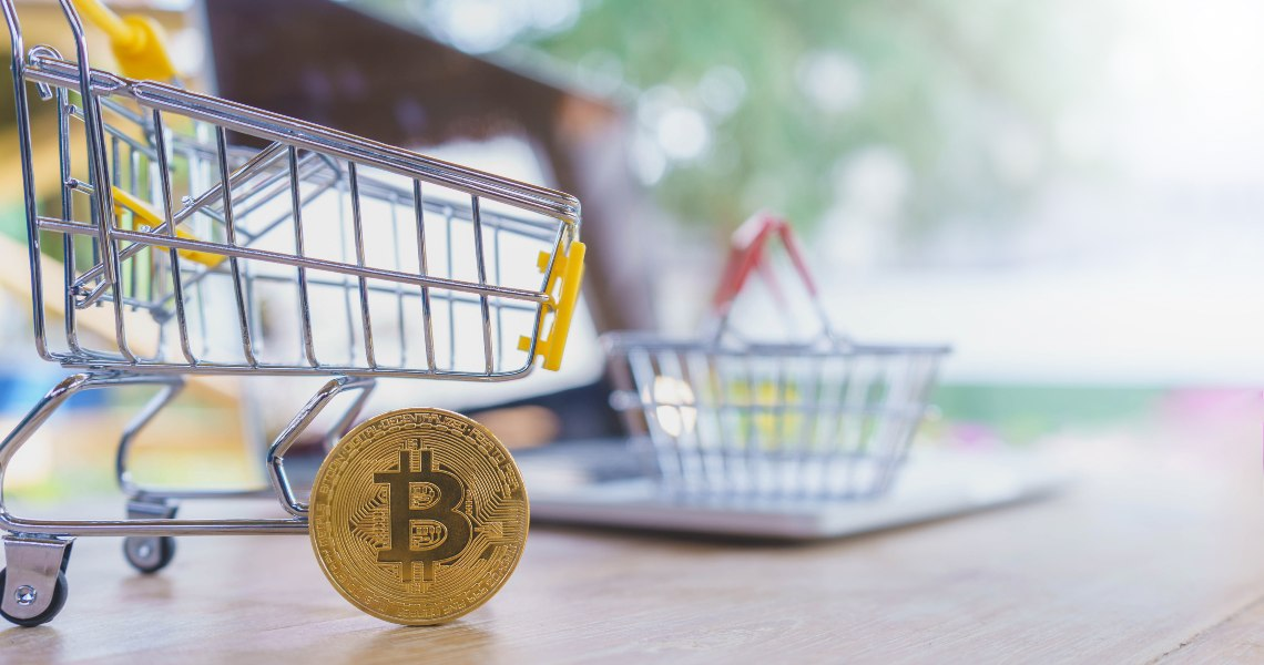 Payments on ShopinBit: BTC and BCH in the lead