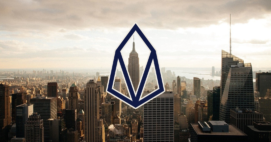 Listing a token based on EOS