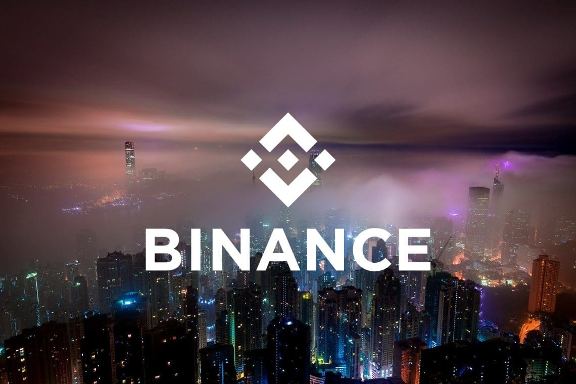 Binance reports only half of the trading volumes