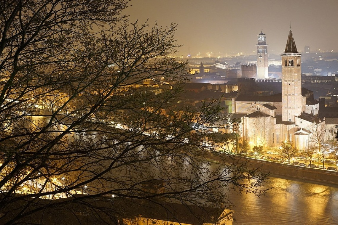 Bitcoin travel vouchers to visit Verona, Italy