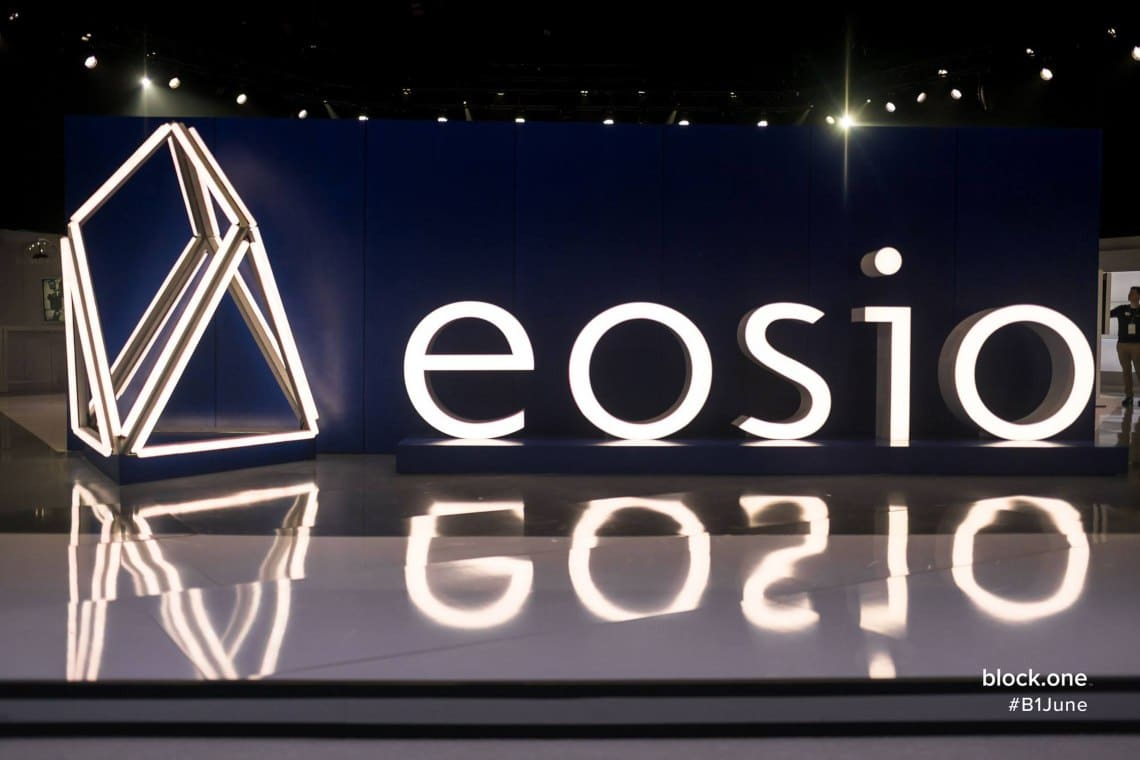 How does the EOSio consensus model work?