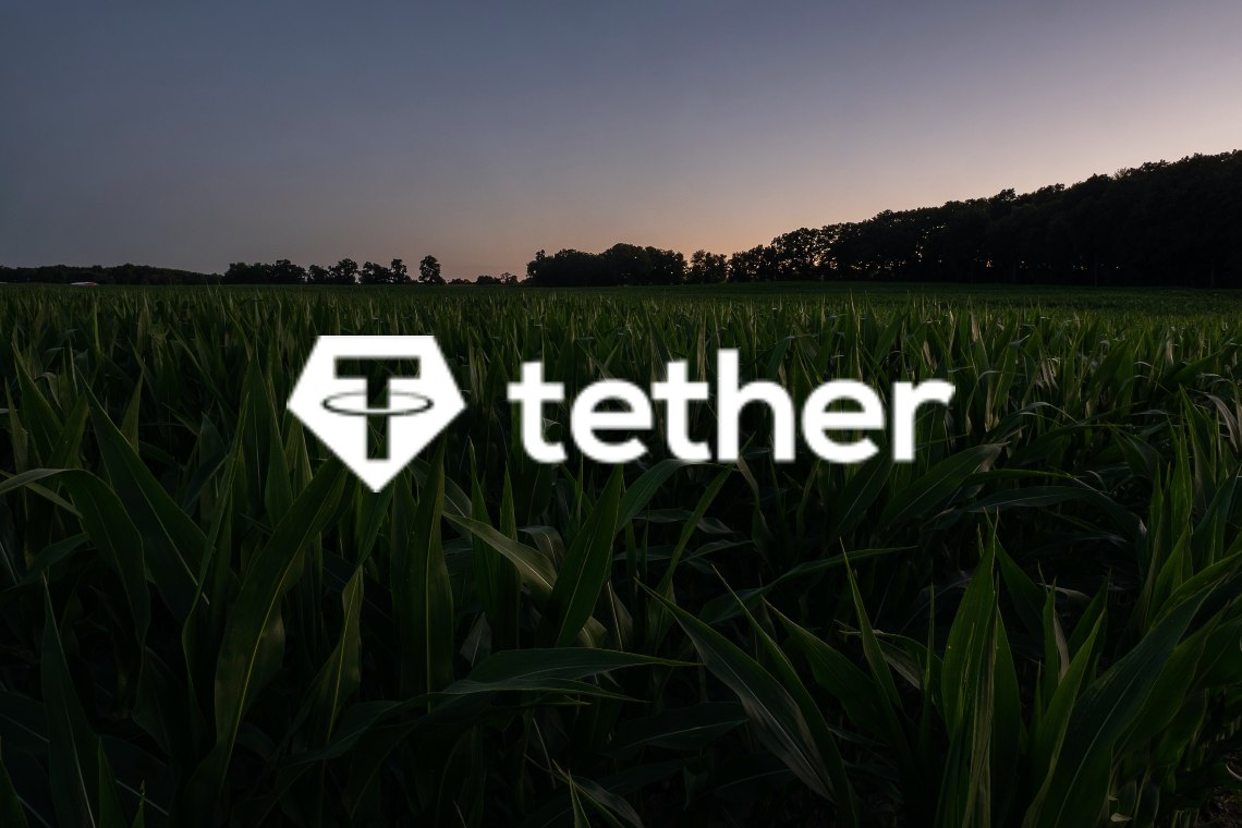 The growth of Tether as the third cryptocurrency in the world