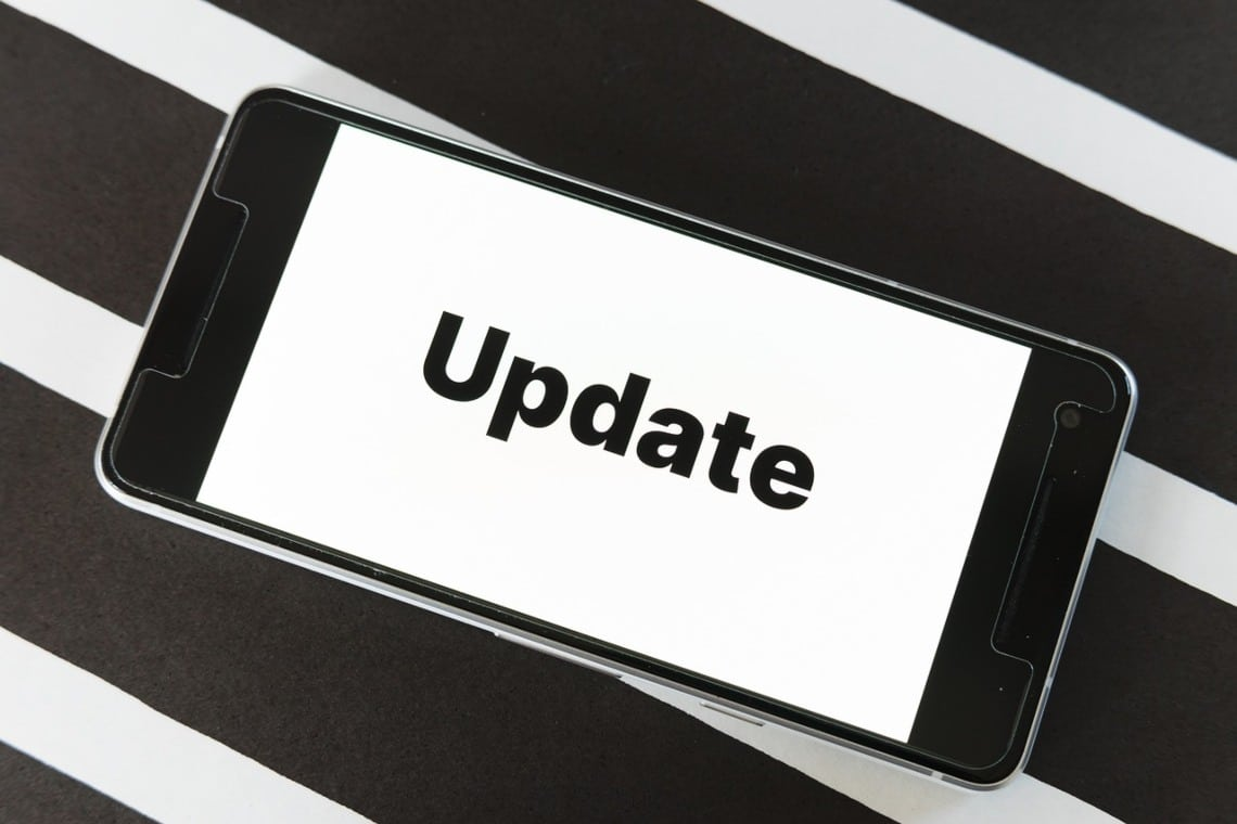 New update for the Algorand wallet