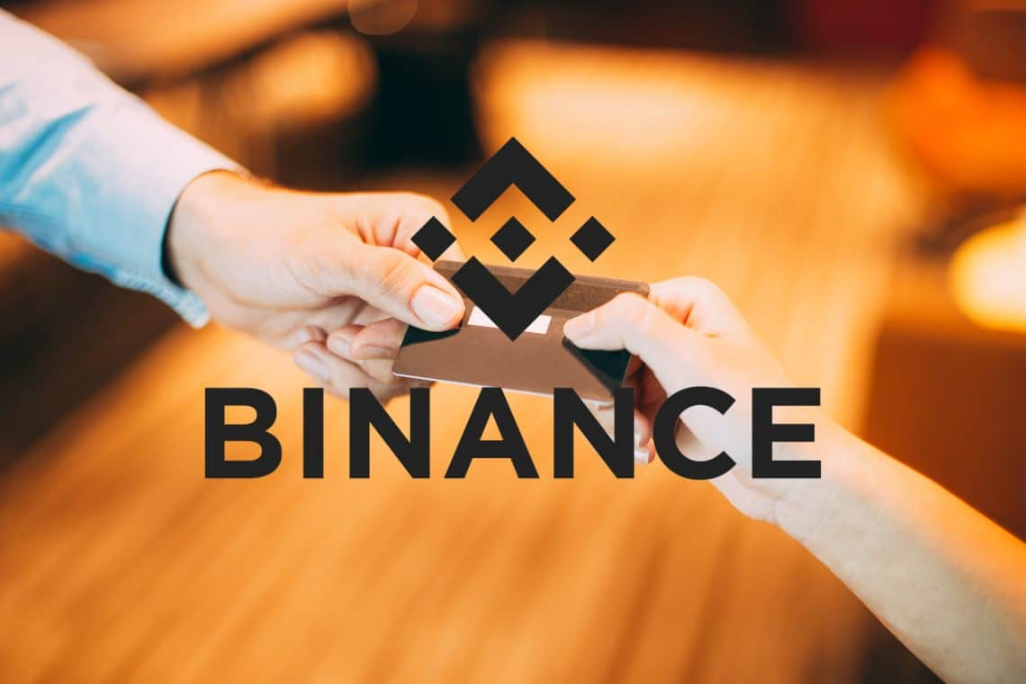 Binance issues his cryptocurrency debit card