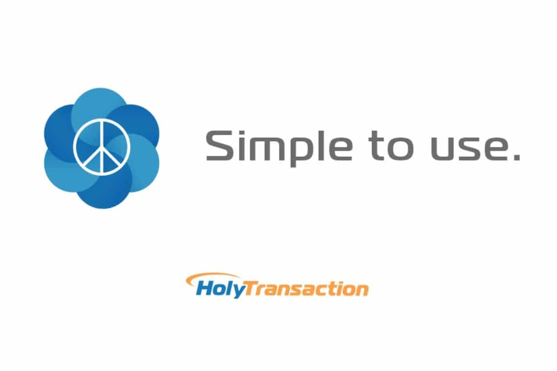 Buy Bitcoin with a credit card using Holytransaction cryptocurrency wallet