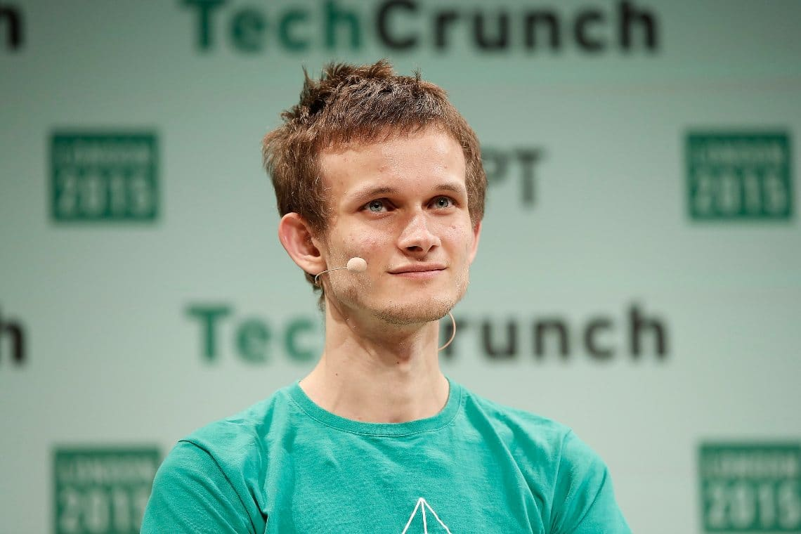 Auction of a Vitalik Buterin NFT
