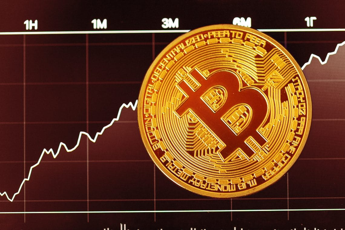 Bitcoin price, positive quarter: +42%