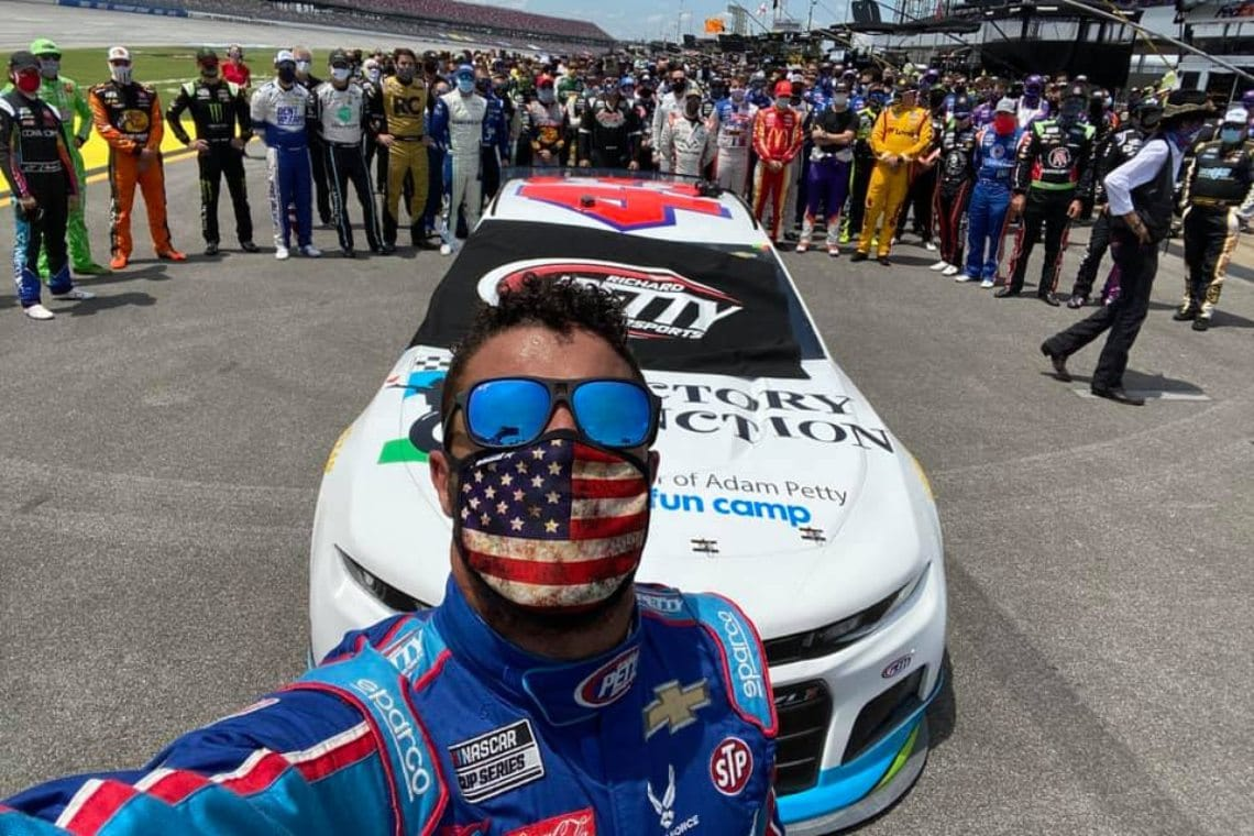 Jack Dorsey and Bitcoin sponsor Bubba Wallace