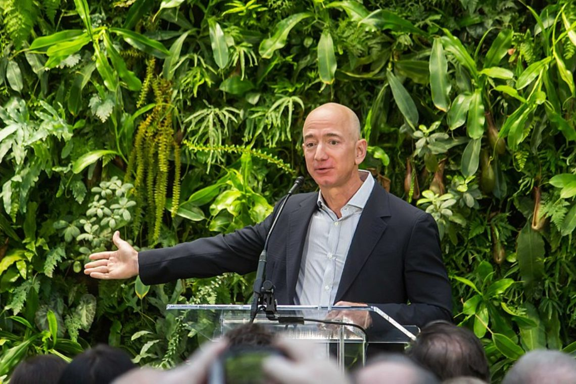Could Jeff Bezos buy all the bitcoins?