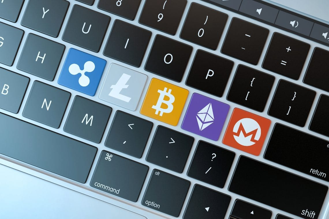 Bitcoin and the most popular cryptocurrencies of June