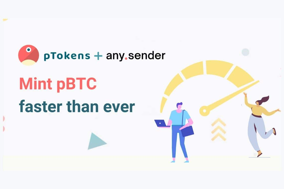 pTokens has integrated any.sender