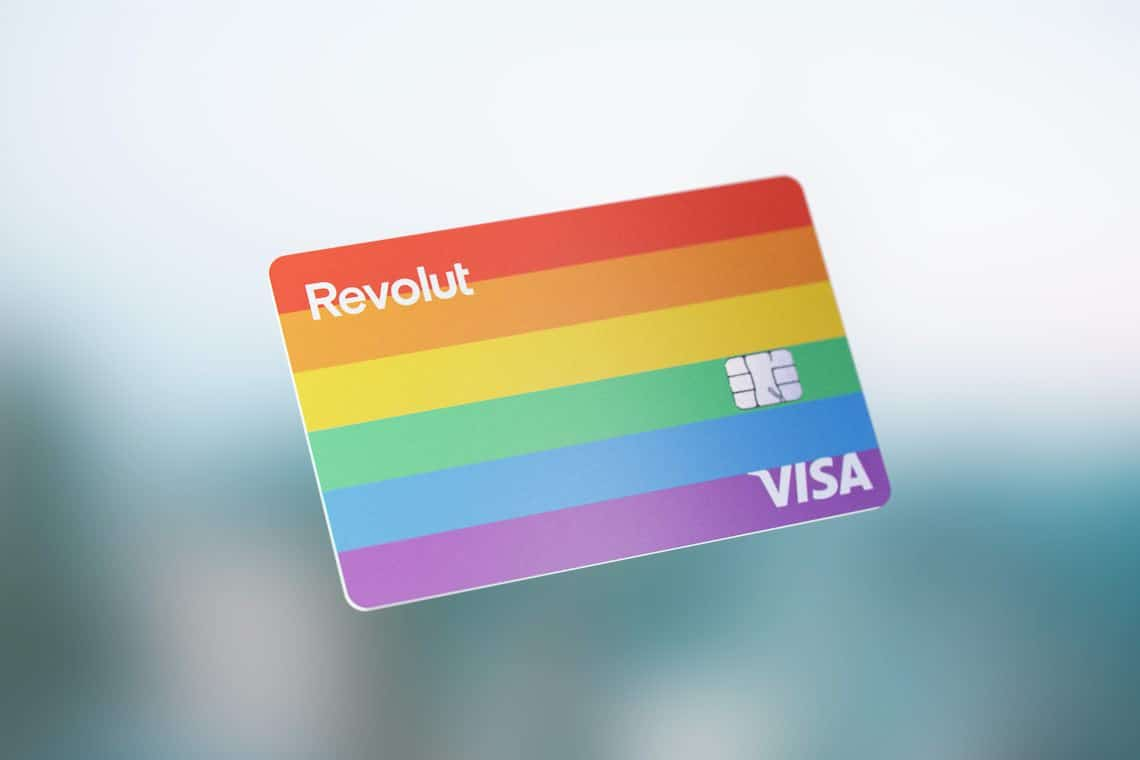 Revolut cards to celebrate Pride