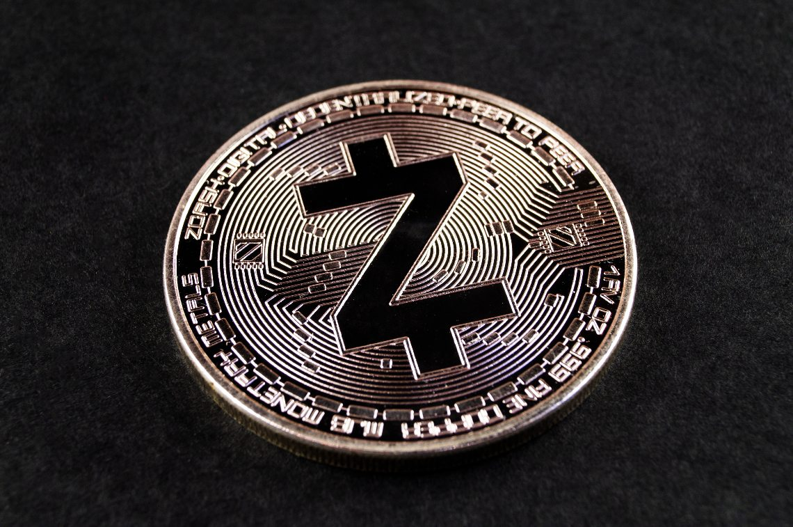 A shielded transaction of Zcash (ZEC) was exposed