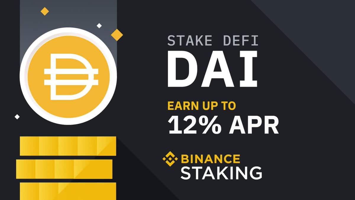 Binance launches DAI staking
