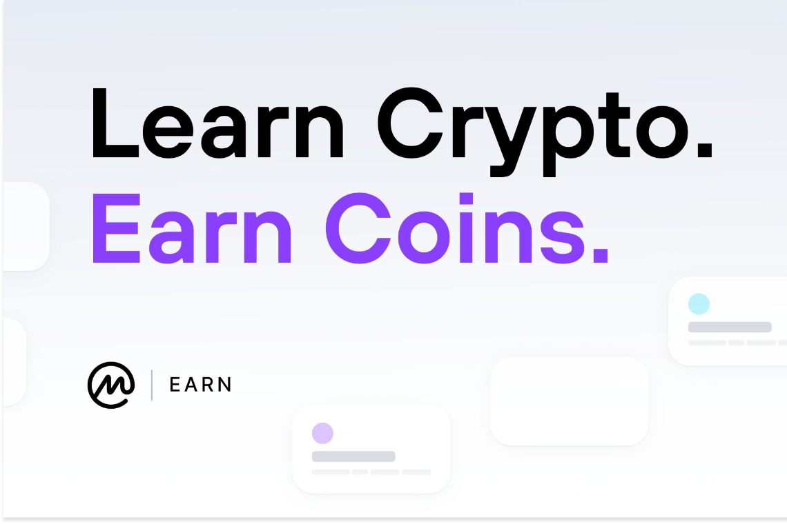 Earning crypto with CoinMarketCap Earn
