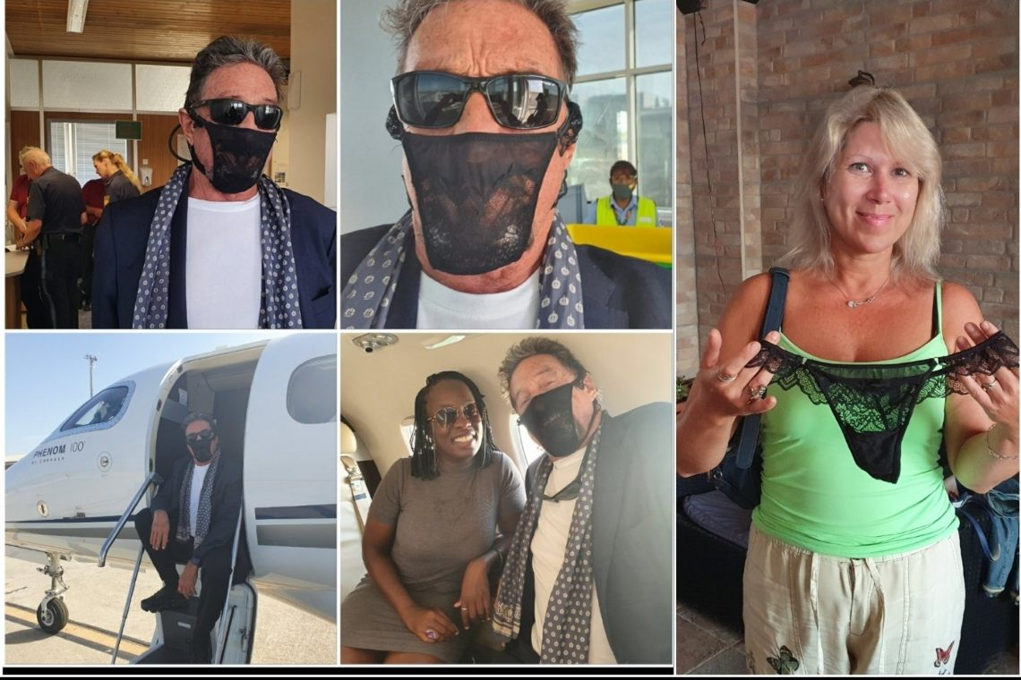 Panties as a mask: John McAfee rejected in Norway