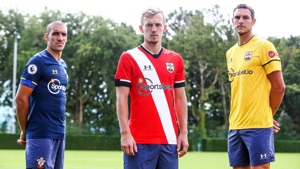 Southampton FC: Bitcoin on the football team jersey