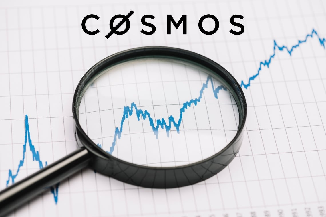 Cosmos: the price of ATOM rises by 25%