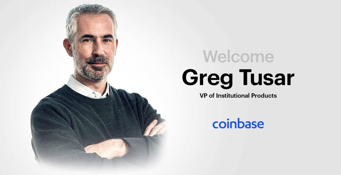 The new Vice President of Coinbase