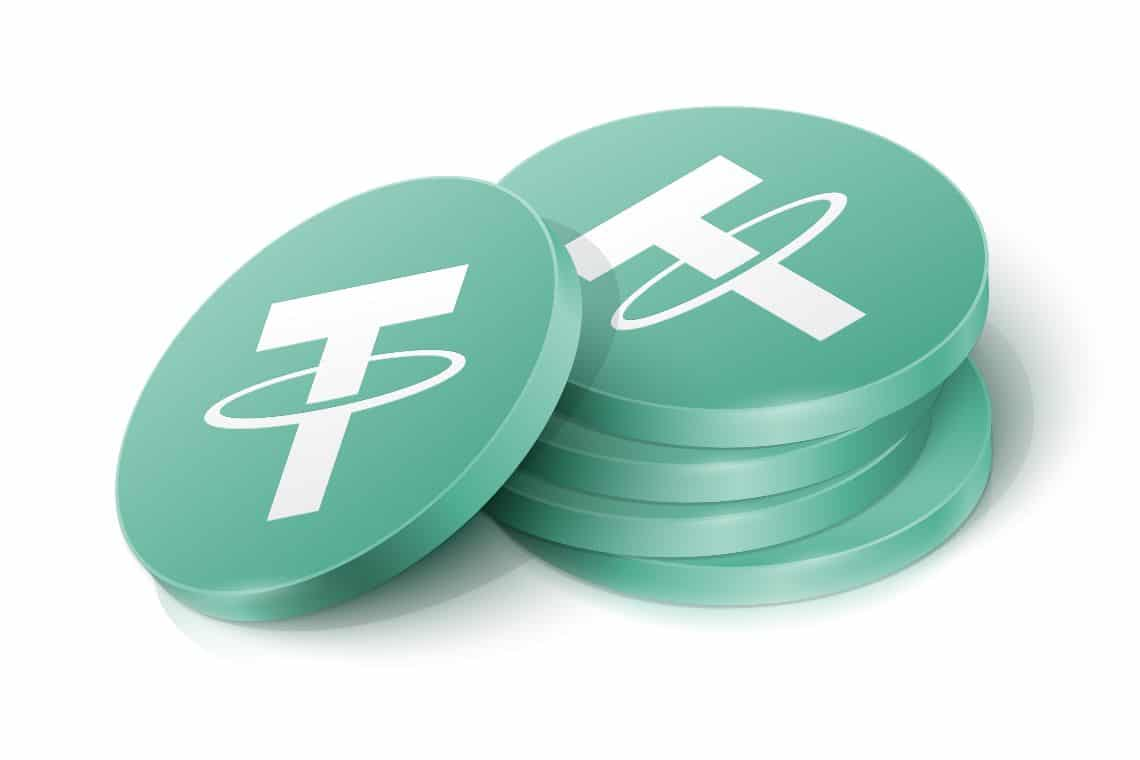 Tether overtakes Bitcoin and PayPal for transferred volume