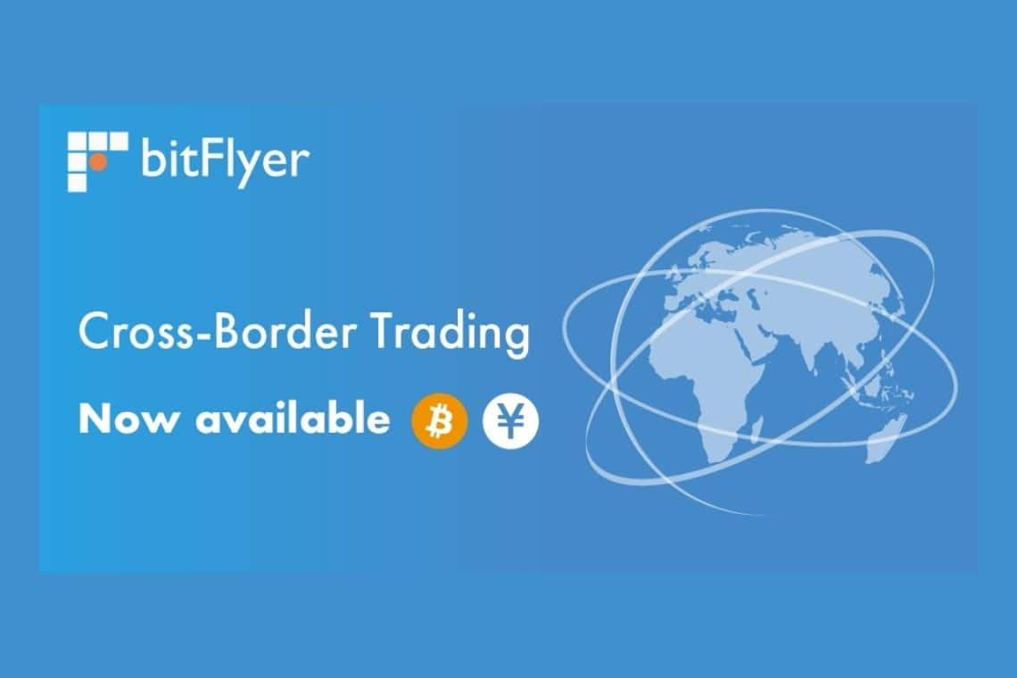 bitFlyer launches cross-border trading with Japan