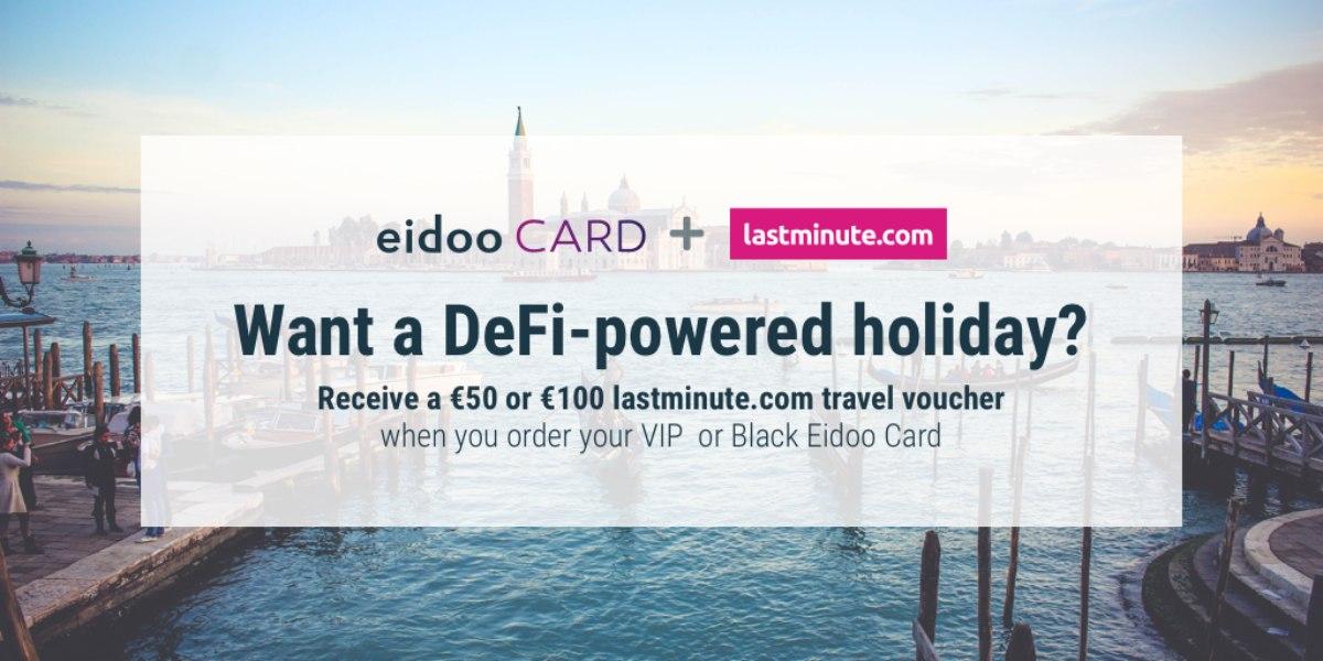 Eidoo gives away vouchers for LastMinute.com
