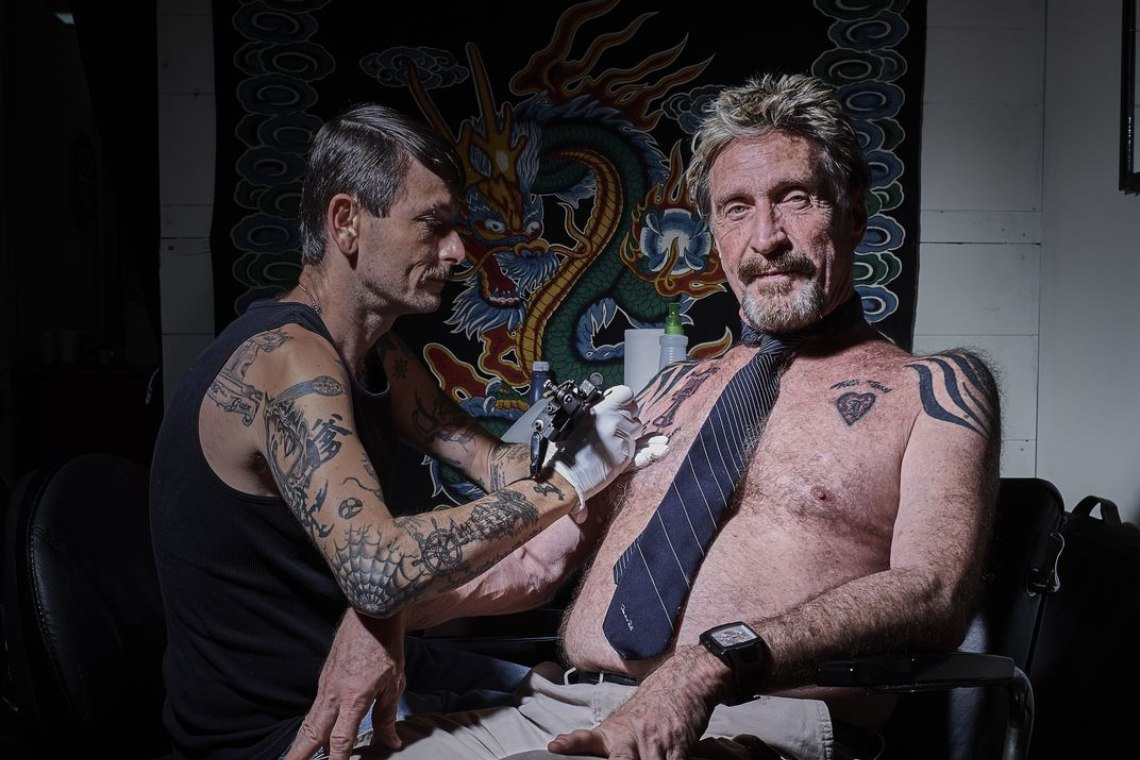 Happy birthday John McAfee!