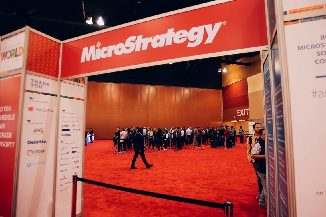 MicroStrategy: half of the assets are in bitcoin