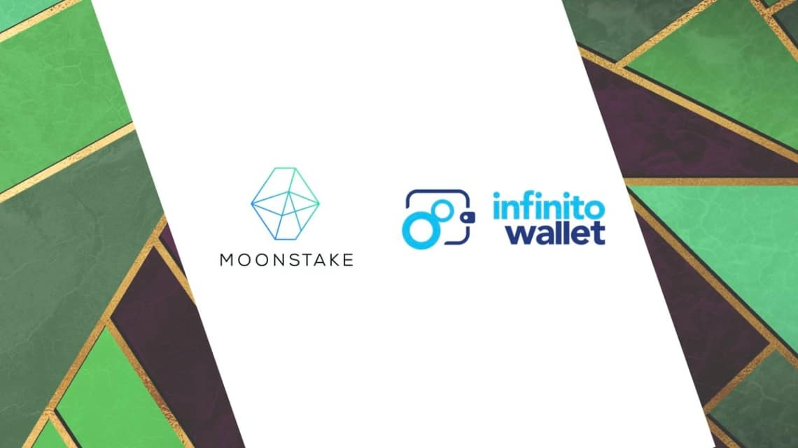 DeFi: Moonstake and Infinito wallet for improved staking