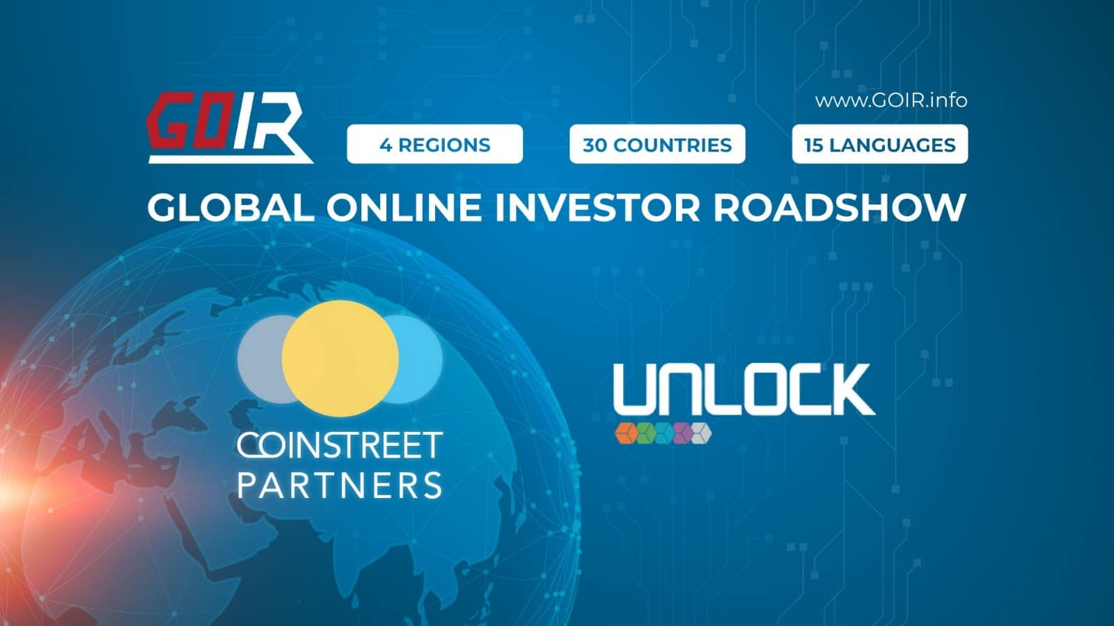 Coinstreet Partners' Collaboration with UNLOCK