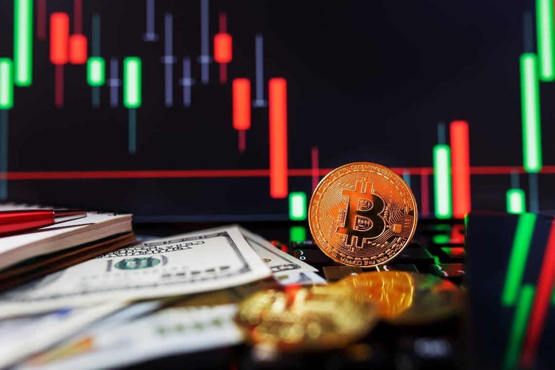 Bitcoin back below the $10,000 threshold