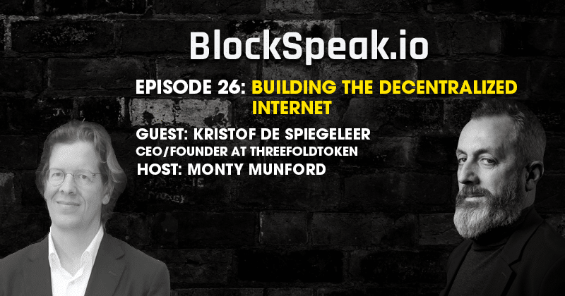 Kristof De Spiegeleer on Simplifying IT with blockchain